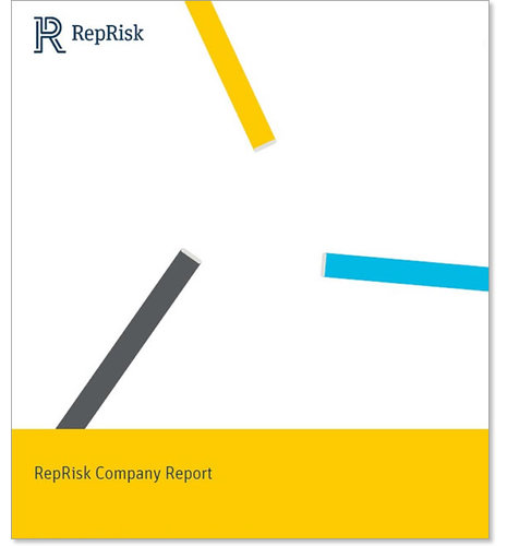 RepRisk ESG Business Intelligence Company Report