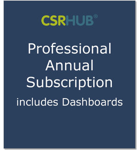 Csrhub annual pro subscription 2017