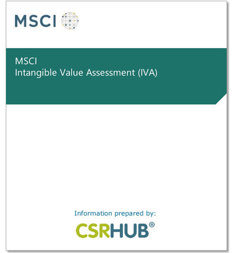MSCI Intangible Value Assessment (IVA)