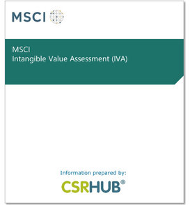 Msci intangible value assessment