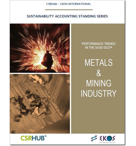 SASB Industry Analysis - Metals & Mining