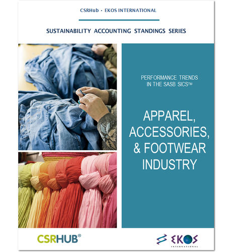 SASB Industry Analysis - Apparel, Accessories & Footwear
